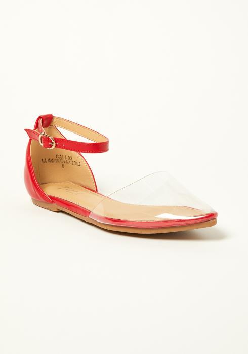 Tiara Ankle Strap Flat