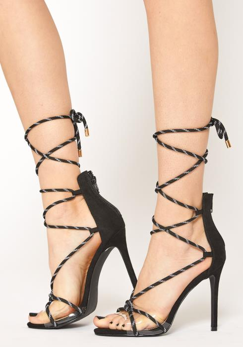 Liliana Lace Up Heel