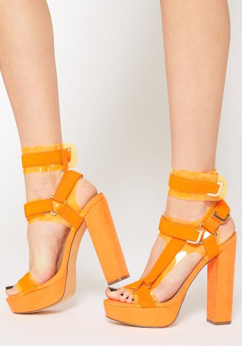 Liliana Strappy Platform Heels