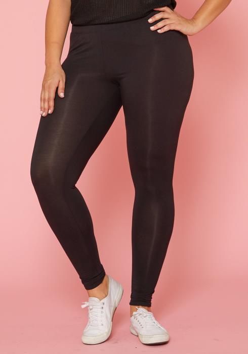 Asoph Plus Size Basic Leggings