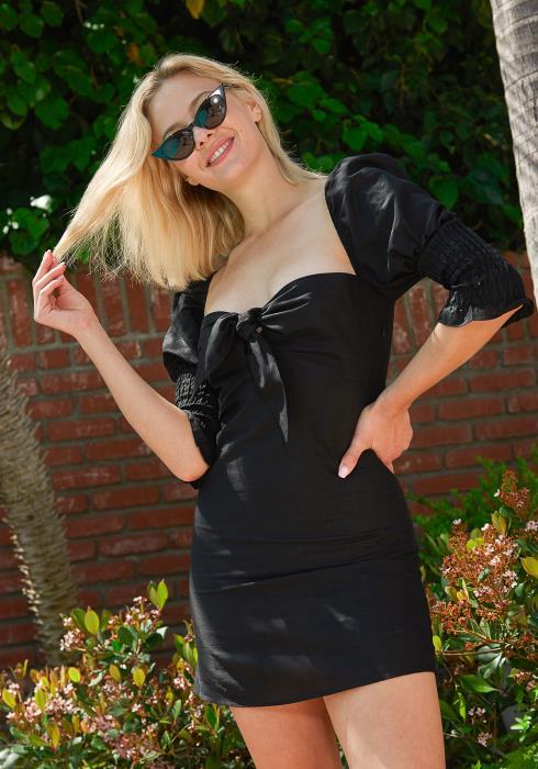 Tansy Sweetheart Mini Dress