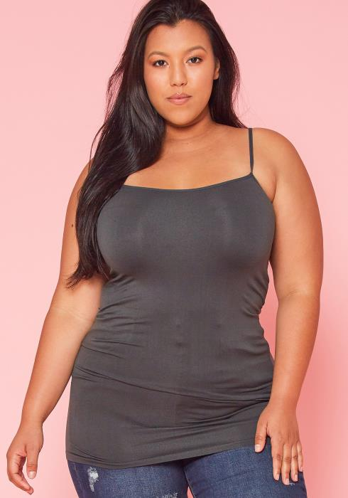 Asoph Plus Size Basic Cami Top
