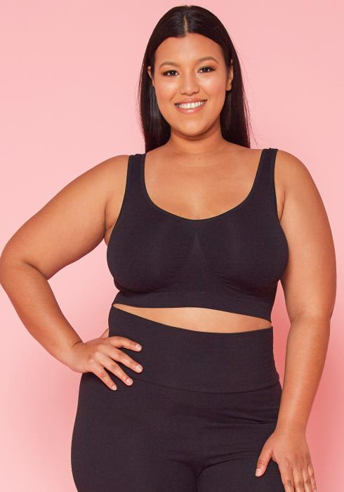 Asoph Plus Size Basic Active Top