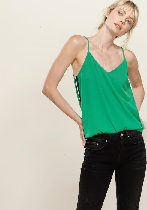 Pleione Side Binding Cami Blouse