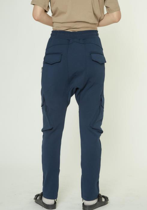 TRACK PANTS WITH CARGO POCKETS