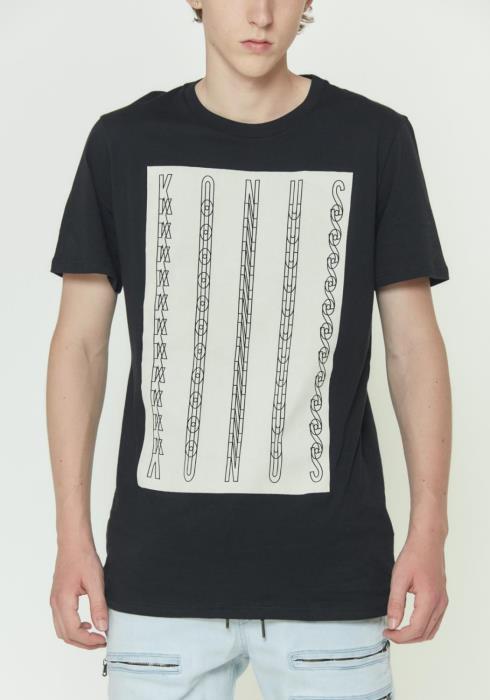 Konus Mens Short Sleeve Graphic Tee