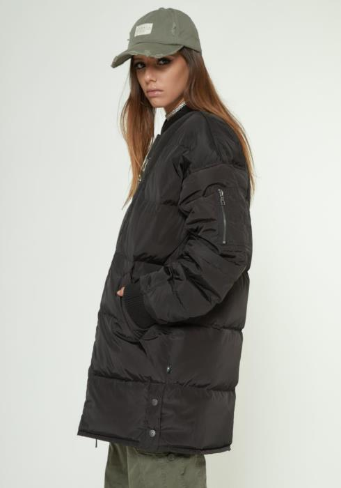 MENS MID LENGTH DUCK DOWN PARKA