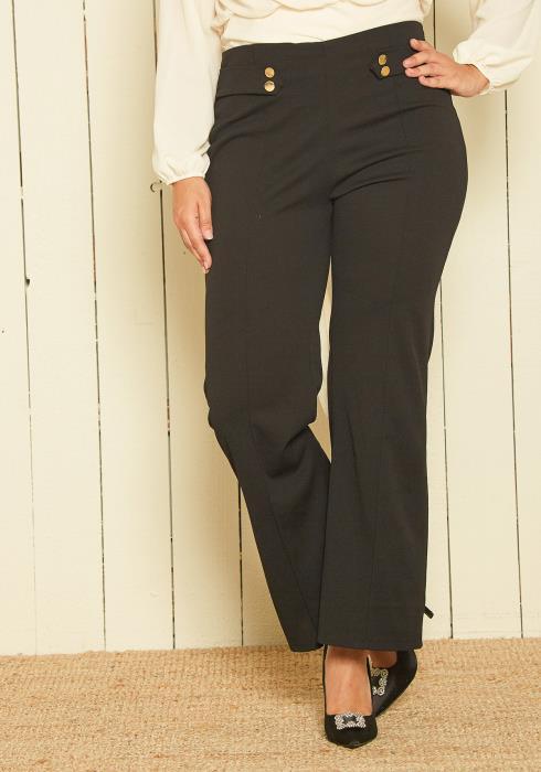 Asoph Plus Size Sailor Pants
