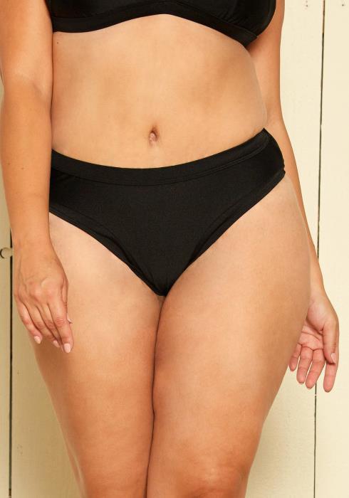 Asoph Plus Size Low Rise Bikini Bottom