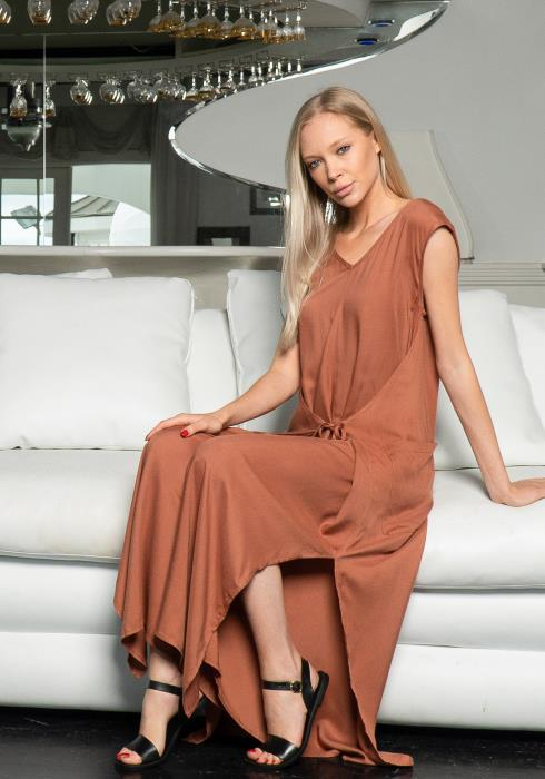 Tansy Sleeveless Wide Leg Jumpsuit