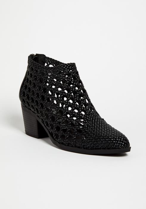 Straw Low Ankle Summer Boots