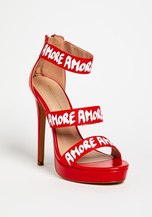Amore Strappy High Heels