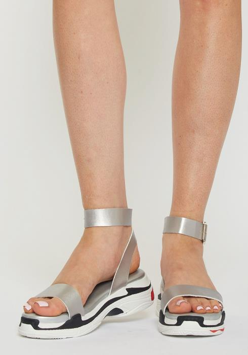 Metallic Casual Sandal