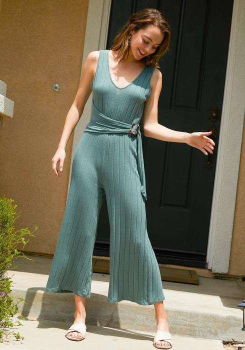Tansy Ribbed Jumpsuit