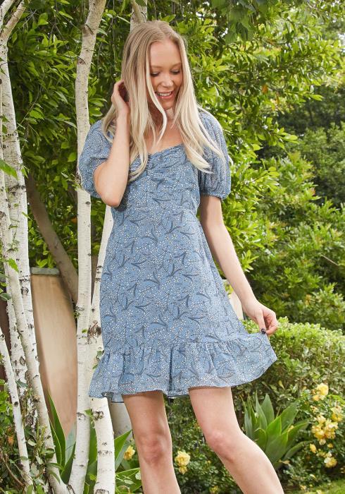 Tansy Floral Print Dress