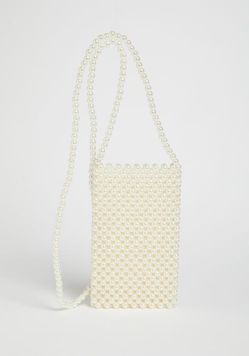 Cecilia Pearl Crossbody Bag