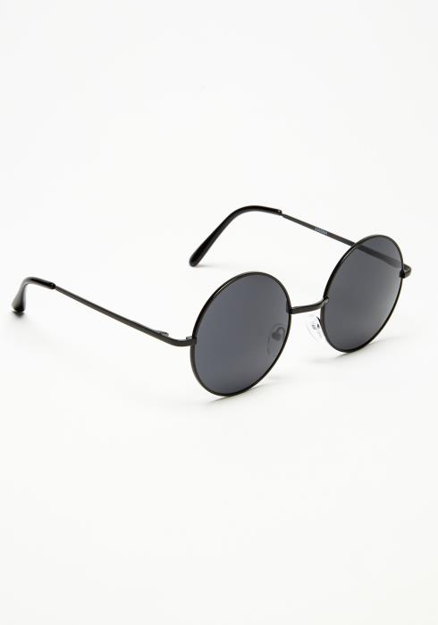 Circular Metal Tinted Sunglasses