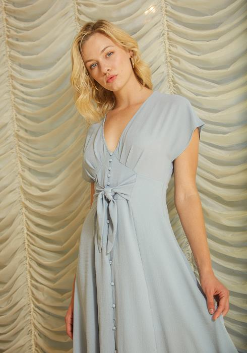 Tansy Button Up Vintage Dress