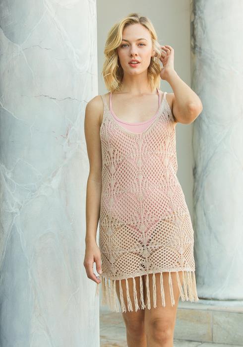 Tansy Crocheted Cami Dress