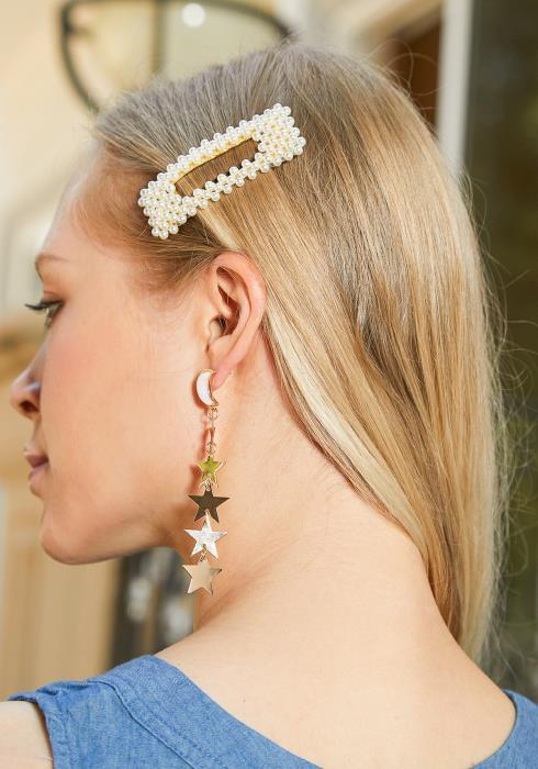 Jane Pearl Hair Clip