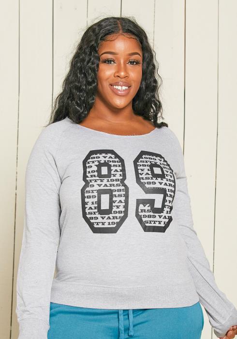 Asoph Plus Size 89 sweatshirt