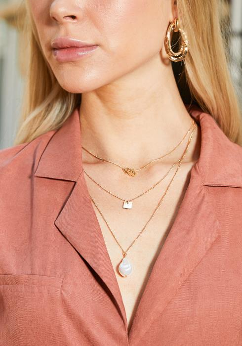 Demi Layered Pearl Necklace