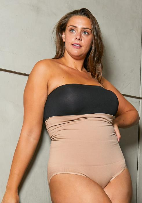 Asoph Plus Size Womens Hip Up Shapewear