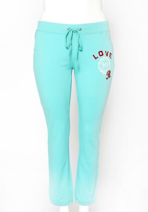 Asoph Plus Size University Of Love Trainer Pants