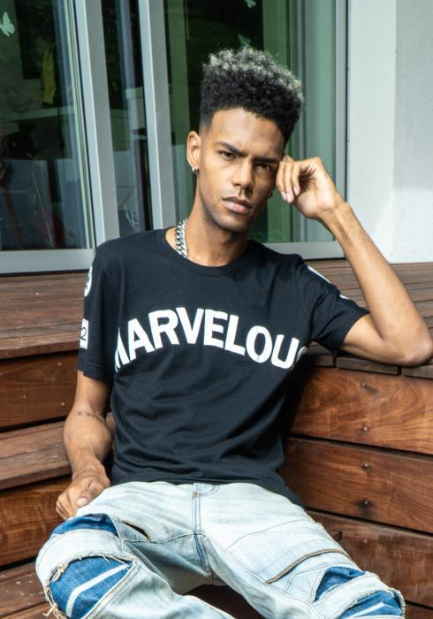 "Rowdy Mens ""Marvelous"" Graphic Tee"