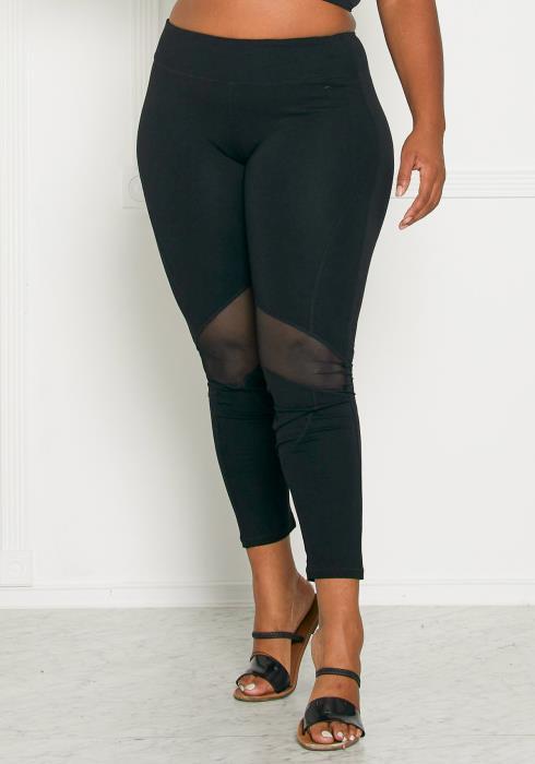 Asoph Plus Size Work it Girl Leggings