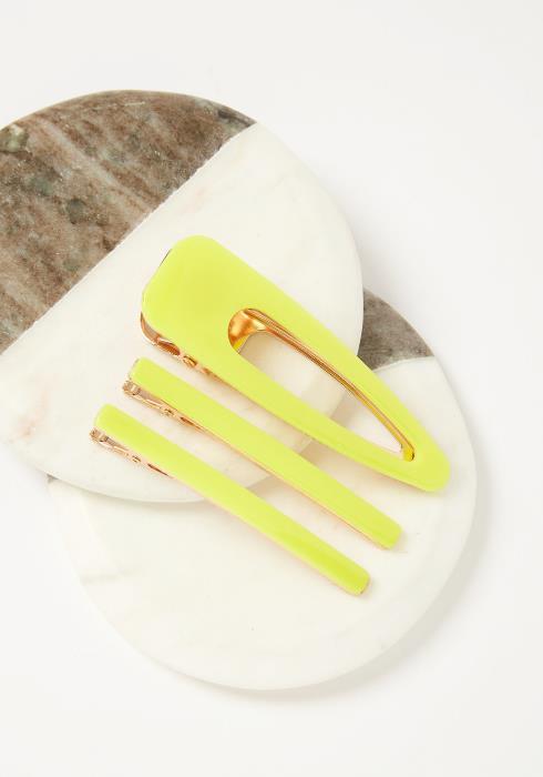 Neon Hair Pin Set