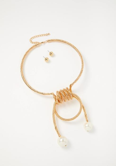 Alivia Necklace & Earrings Set