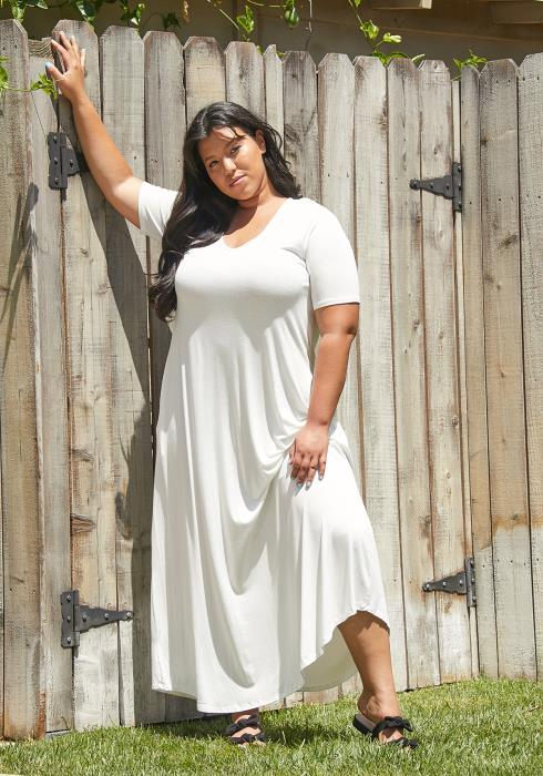 Asoph Plus size Daily Maxi Dress