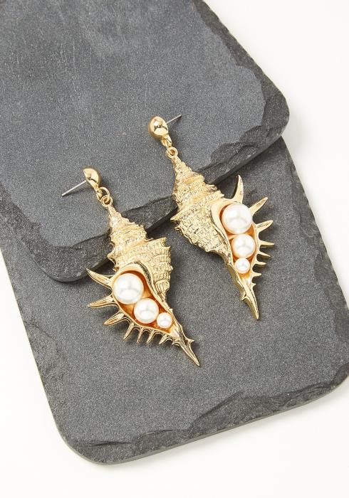 Valeria Shell Earrings