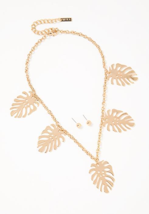 Lia Necklace Earring Set