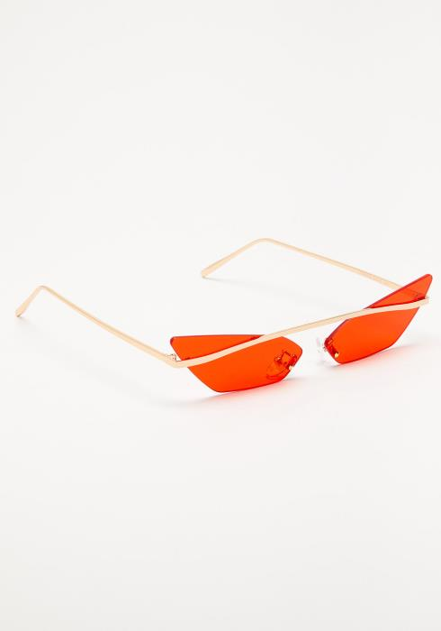 Ivy Cat Eye Narrow Sunglasses