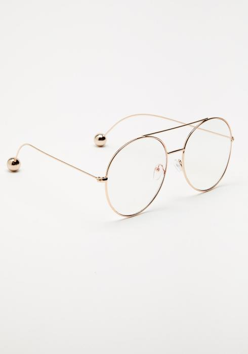 Elena Metal Framed Glasses