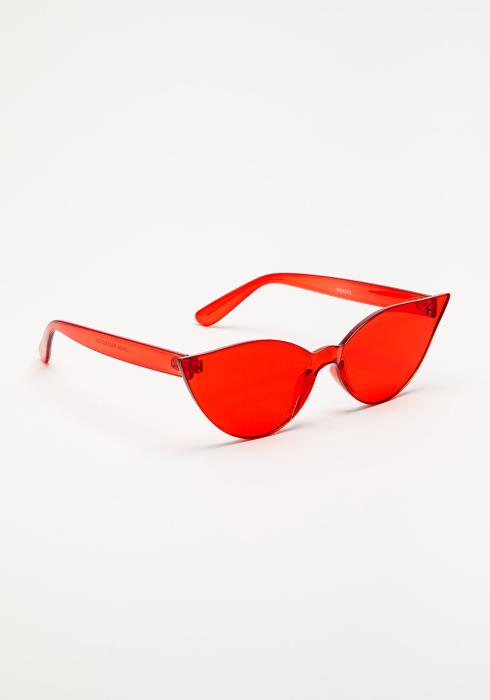 Kamila Colored Cat-Eye Sunglasses