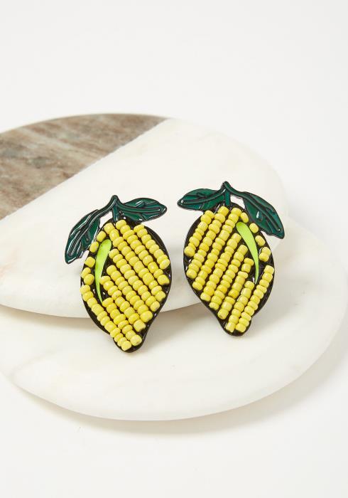 Callie Lemon Earrings