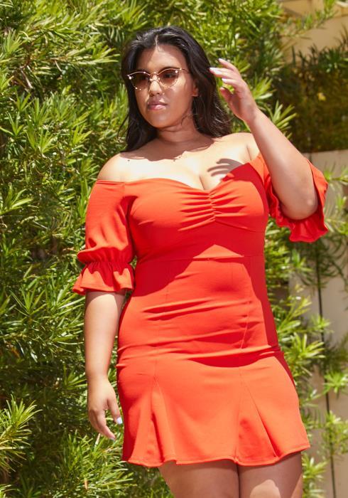 Asoph Plus Size Princess Summer Dress