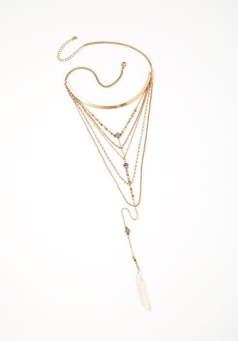 Amia Ethnic Layered Necklace