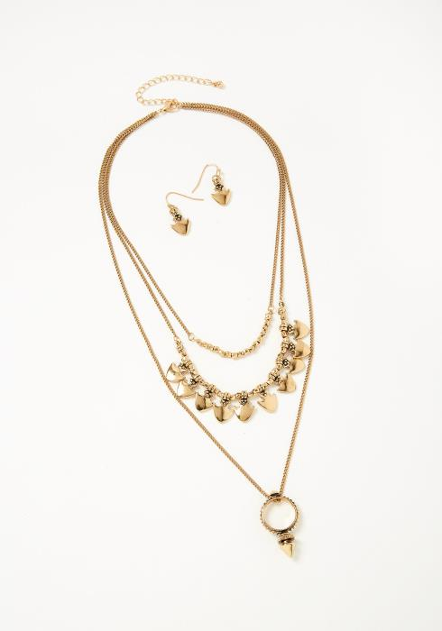 Florence Necklace Earring Set