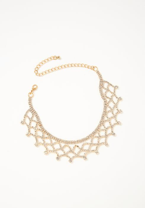Violeta Net Necklace Gold