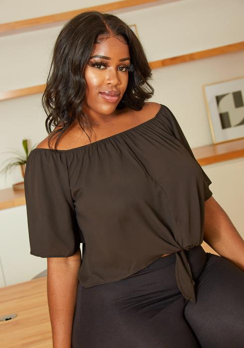 Asoph Summertime Fine Plus Size Top