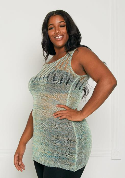Asoph Plus Size Beach Babe Cover up Top
