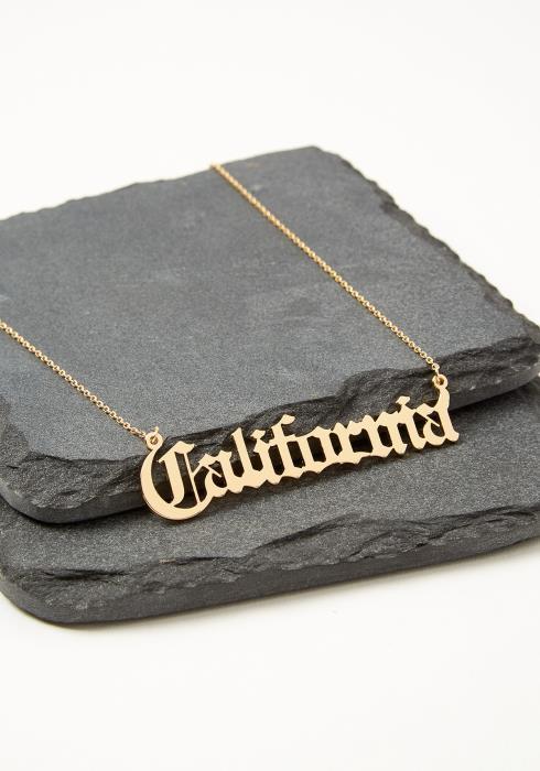 California Gold Necklace