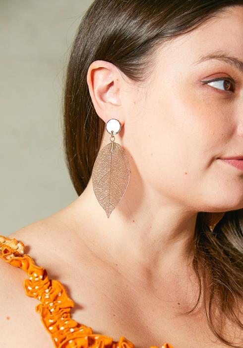 Loiza Leaf Earrings