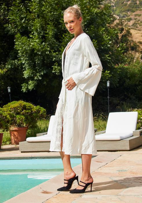 Tansy Women Long Kimono
