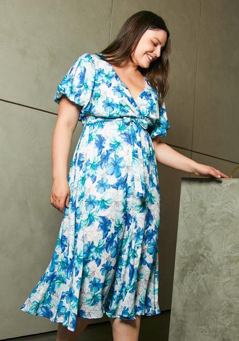 Asoph Plus Size Midnight Garden Dress