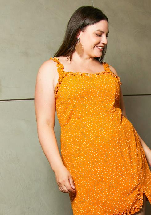 Asoph Plus Size Womens Lovely Summer Dress